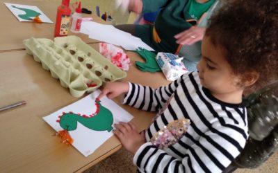 Díada de Sant Jordi a l'escola Casablanca