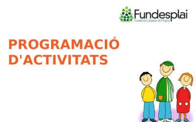 Programació d'activitats maig i juny