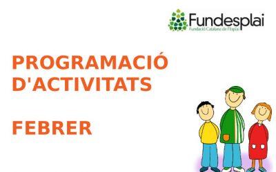 Programació activitats febrer 2020